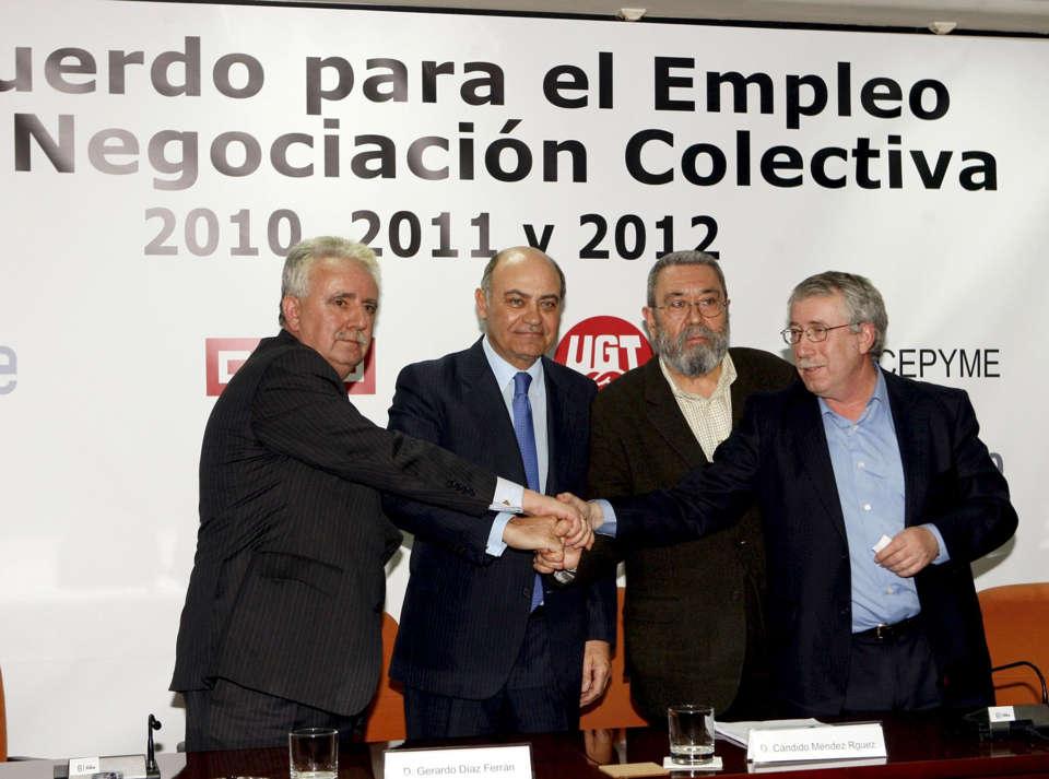 Los tragones de la negociación colectiva